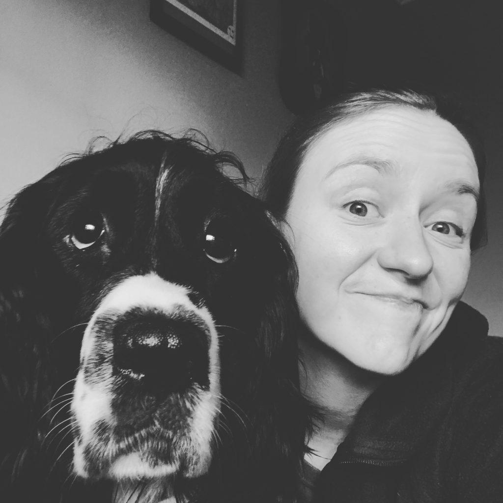 The author and doggo #2
